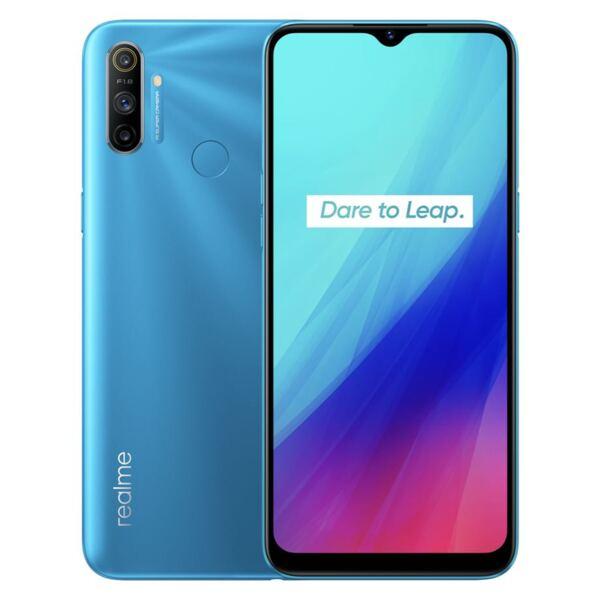 Realme C3, 64GB, Dual SIM, Frozen Blue
