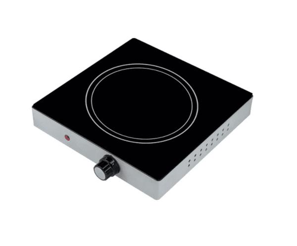 Котлон керамичен MUHLER MHP-2099IS, Нагряваща площ 17 см, Черен