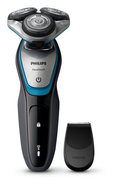 Самобръсначка Philips S5400/06 AquaTouch, Мокро и сухо бръснене