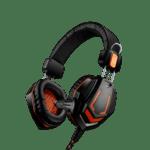 Геймърски слушалки Canyon CND-SGHS3A, черен/оранжев