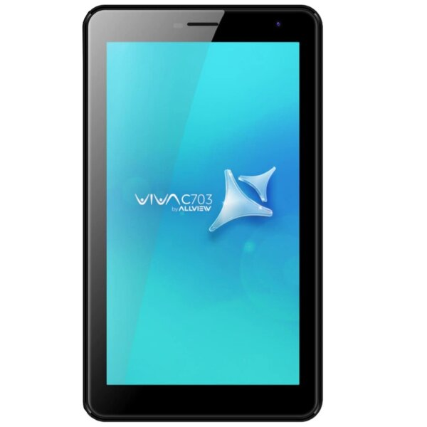 "Таблет Allview Viva C703, Quad Core, 7"", 1GB RAM, 8GB, Wi-Fi, Black"