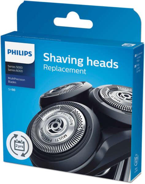 Резевни бръснещи глави Philips Shaver Series 5000 (SH50/50)
