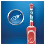 Детска четка за зъби Oral-B D100 Vitality - Cars-Copy