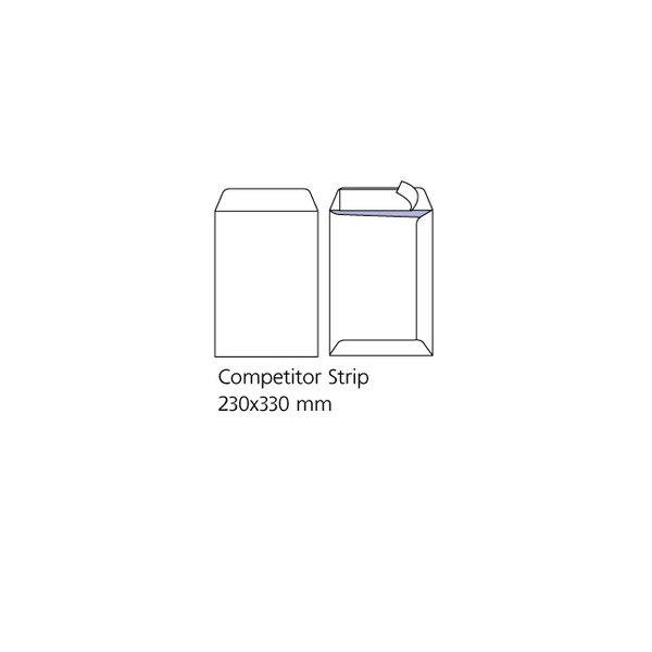 Комплект пликове OFISITEBG  бял C4 229x324 Стикер оп. 100