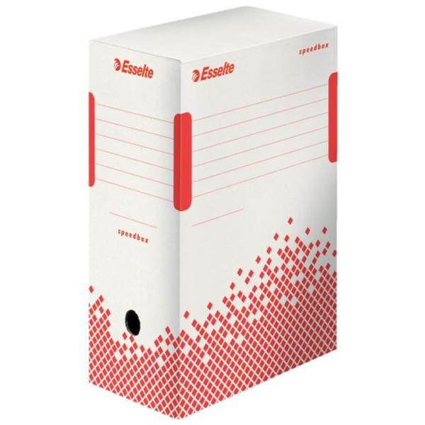 Архивна кутия Esselte Speedbox 150 mm Бял