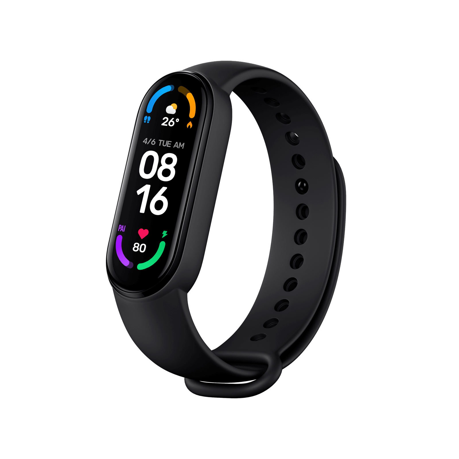 Xiaomi Mi Smart Band 6, Global Version, Черен - ofisitebg.com