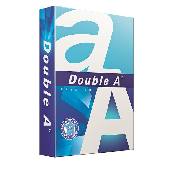 Хартия Double A A4 500 л. 80 g/m2