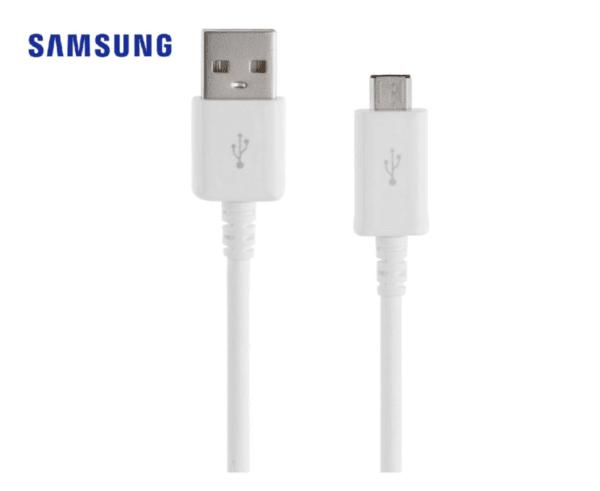 Оригинален SAMSUNG Micro USB кабел, 1.5 метра, бял