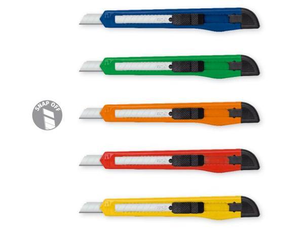 Нож макетен с острие 9 мм