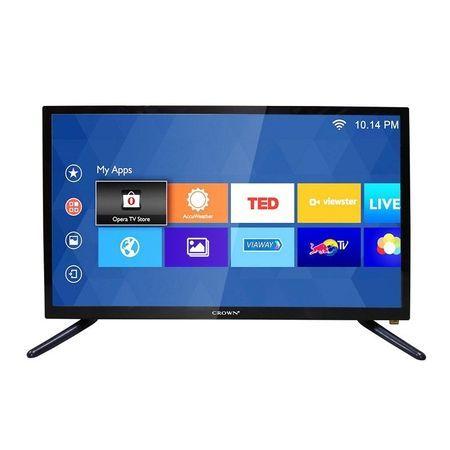 Crown Телевизор, 22 инча, Crown 22133 LED, 12 волта, за камион и кола