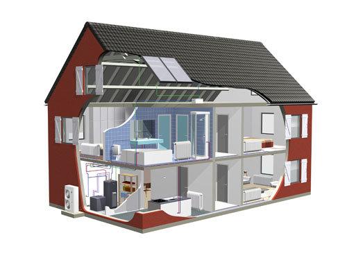 Термопомпи въздух-вода Изображение
