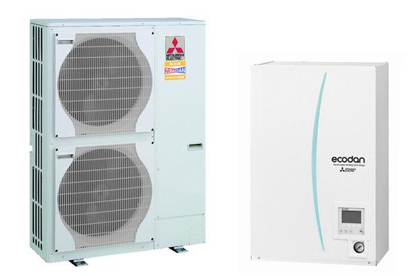 Термопомпа MITSUBISHI ELECTRIC ECODAN ZUBADAN 14 kW