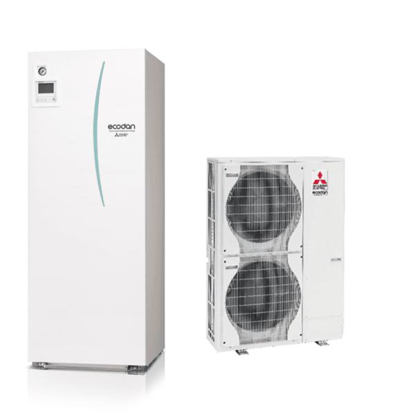 Термопомпа MITSUBISHI ELECTRIC ECODAN POWER INVERTER 16 kW 220V