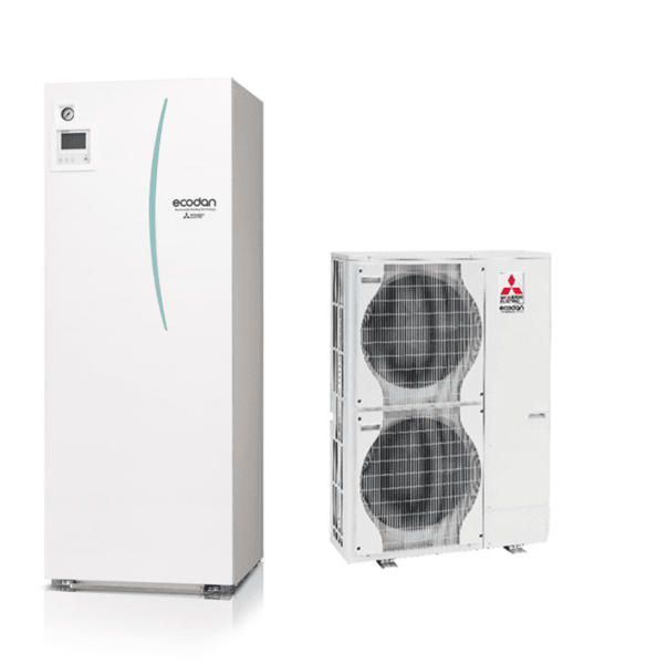 Термопомпа MITSUBISHI ELECTRIC ECODAN POWER INVERTER 16 kW 400V