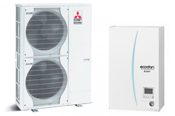Термопомпа MITSUBISHI ELECTRIC ECODAN POWER INVERTER 22 kW 400V ERSC