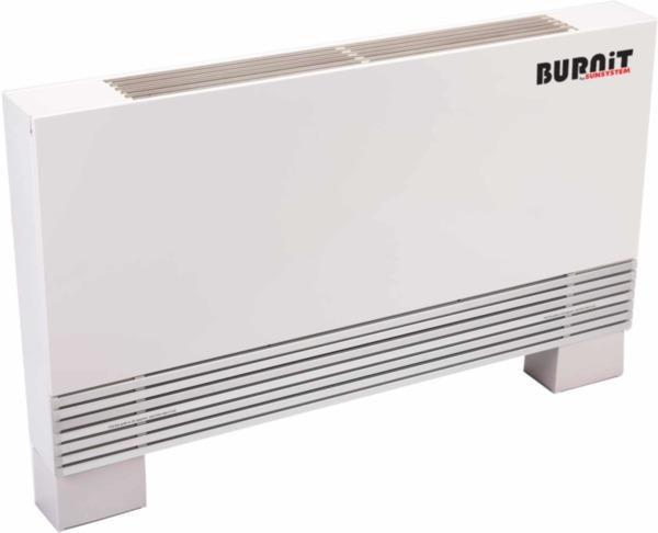 Вентилаторен конвектор за стенен монтаж Slim FCS LED