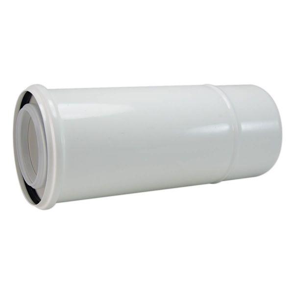 Удължение за комин на газов котел 0.5 м