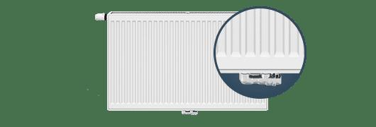 Стоманен радиатор RADIK VKM тип 33 H300