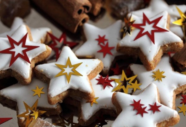 Здравословни коледни бисквити