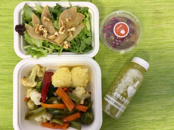 Lunch Menu - VEGAN