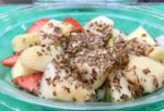 Плодова салата с ленено семе - 250 гр.