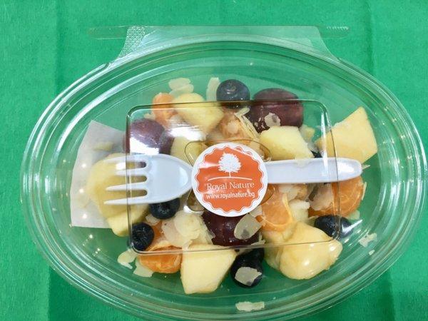 Плодова салата с филиран бадем - 250 гр.