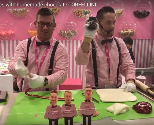 Handmade candies with TORFELLINI