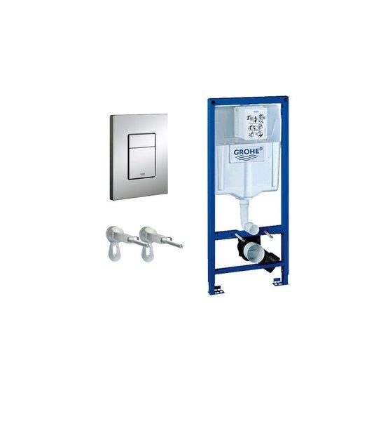 3в1струк. за вграждане за тоалетна чиния 38528001+3855800м+38732000 Grohtherm