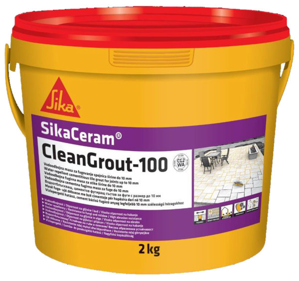 SIKA CERAM CLEAN GROUT-100 АМАРАНТ  2КГ