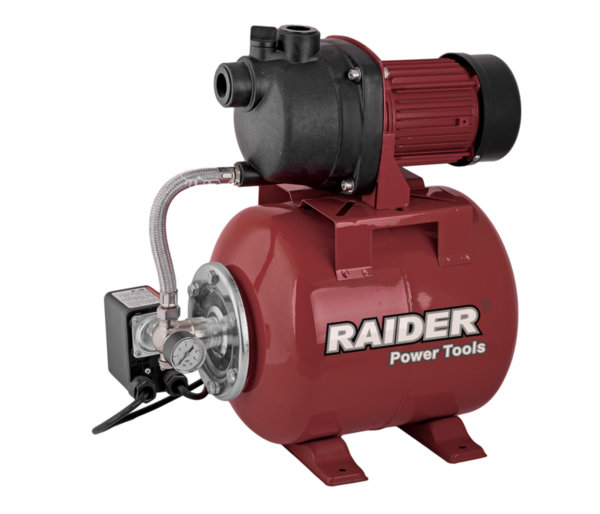 "ХИДРОФОР RAIDER 800W 1"" MAX 50L/MIN 3BAR RD-WP800J 071101"