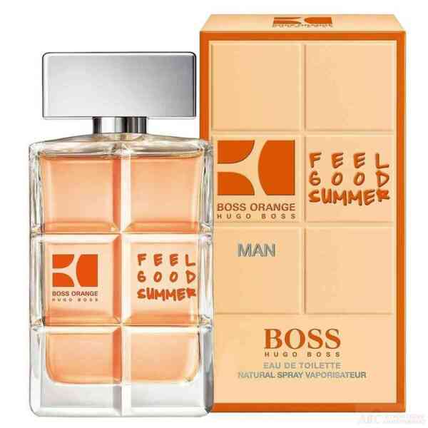 BOSS ORANGE FOR MEN FEEL GOOD SUMMER EDT 100МЛ
