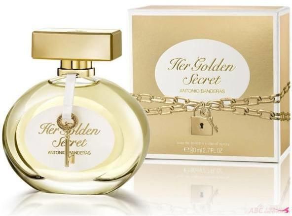 BANDERAS HER GOLDEN SECRET EDT 80ML