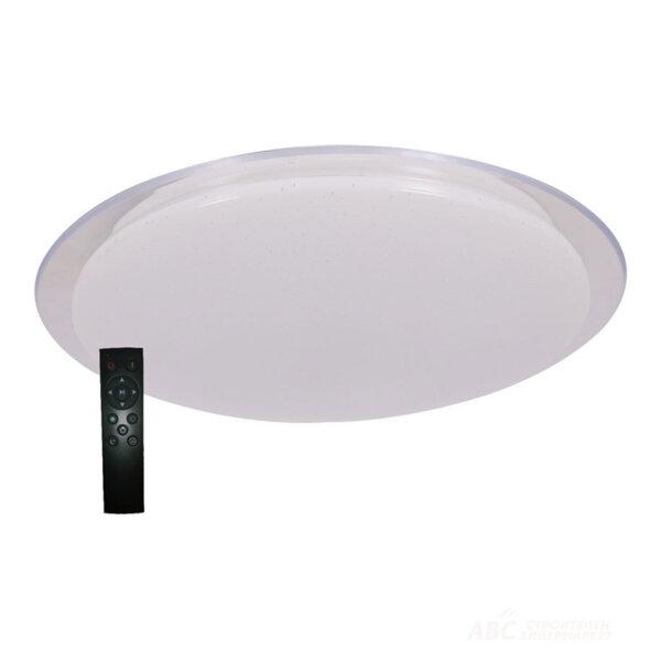 13013 LED ПЛАФОН 72W /TRANSPARENT RING/ С ДИСТАНЦИОННО 18302