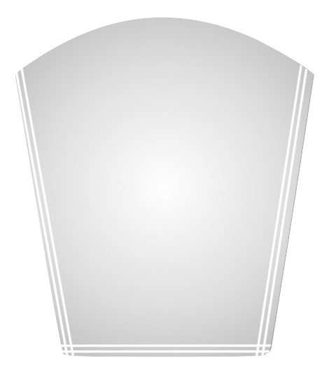 ОГЛЕДАЛО НАРЦИС R 42 (50 X 53)