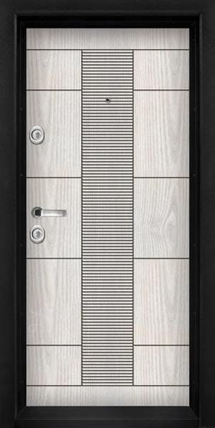Блиндирана входна врата модел Т-901, цвят Арктика