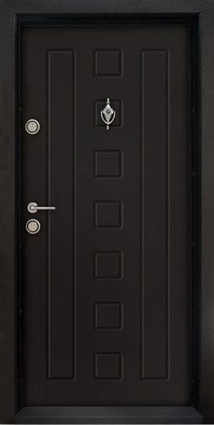 Блиндирана входна врата Т-712, цвят Африка