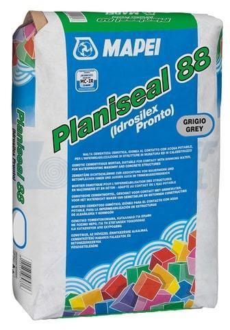 MAPEI Planiseal 88 GRIGIO ХИДРОИЗ.Р-Р 25КГ