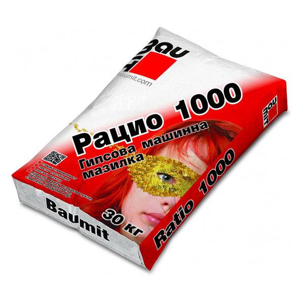 BAUMIT ГИПСОВА МАШИННА МАЗИЛКА РАЦИО 1000 30КГ