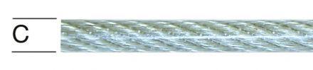 ВЪЖЕ СТОМ.ПОЦИНКОВАНО PVC ПОКРИТИЕ UV 3/4ММ 6Х7 100043