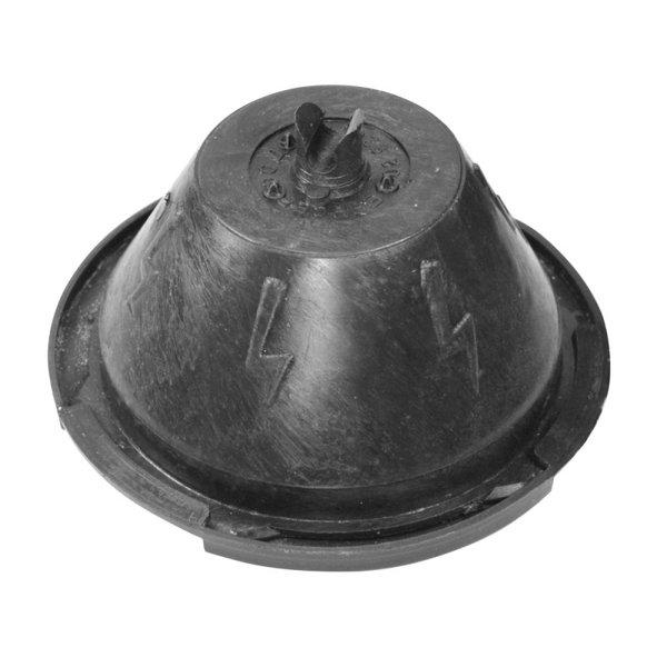 Бетонно блокче за проводник Ø8, за плосък покрив