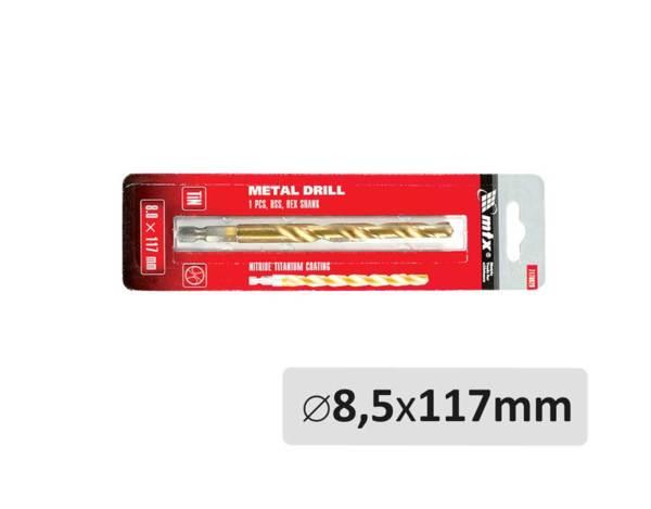 Свредло за метал - ø8.5 x 117 mm
