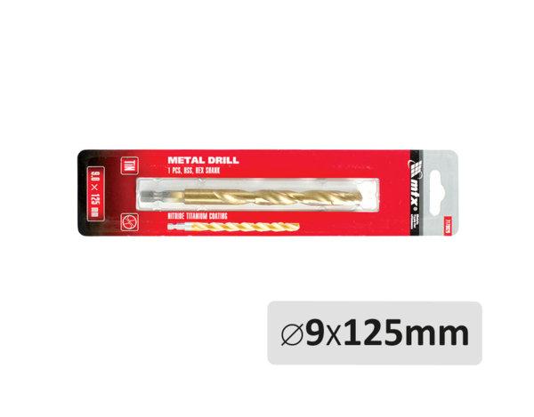Свредло за метал - ø9 x 125 mm