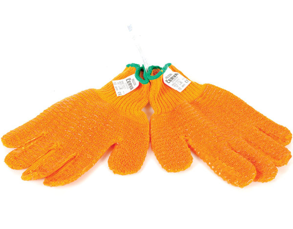 """Ръкавици Falcon от трико - с мрежа от PVC, 10"""""""