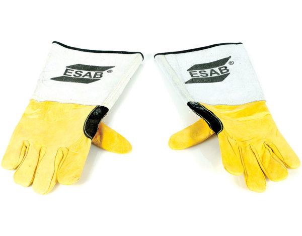 Заваръчни ръкавици - кожени, шити с кевлар