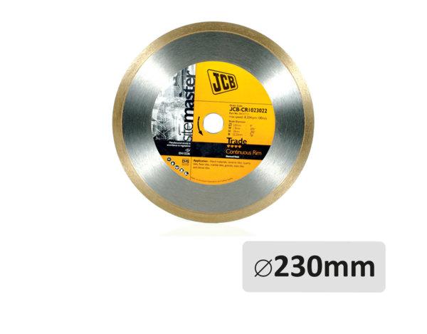 Диамантен диск - за керамика, ø230 x ø22.2 mm