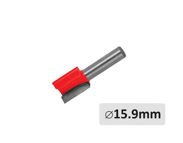 Прав фрезер за оберфреза - без лагер, ø15.9 mm