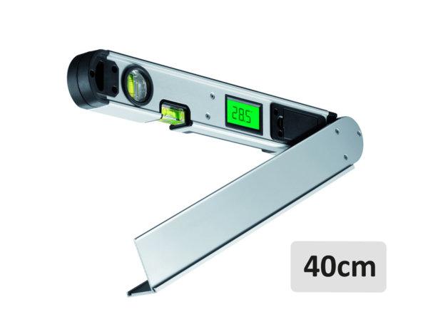 Дигитален ъгломер AcroMaster - алуминиев, 40 cm