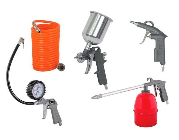 Комплект пневматични инструменти RD-AT02