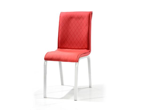 Трапезен стол Modern - червен