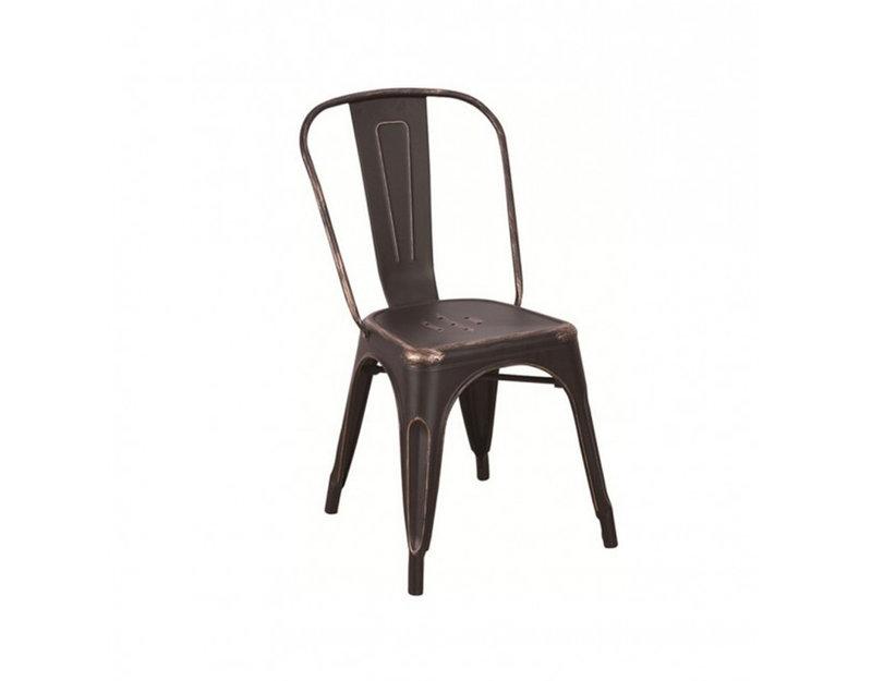 Трапезен стол Antic - черен